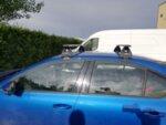 Аеродинамични алуминиеви греди Hakr за Skoda Octavia III седан и Liftback модел 2013 до 2020 година
