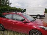 Аеродинамични алуминиеви греди Hakr за Hyundai I20 модел от 2015 година и нагоре