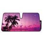 Сенник за предно стъкло Palm Beach Sunset 68x147 см