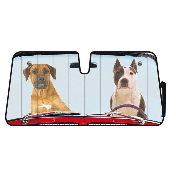 Сенник за предно стъкло Two Dogs 68x147 см