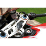 Opti Tube, закрепване на кормилна тръба на мотоциклет - Ø 17-20,5 mm