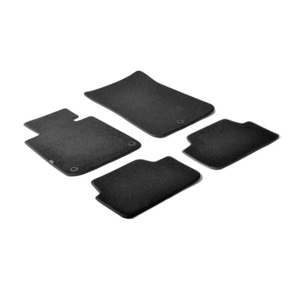 Мокетни стелки черни за Bmw 1-ва Серия E87 с 5 врати и Е81 с 3 врати