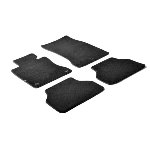 Мокетни стелки черни за Bmw 5 Е60 и E61 от 2004 до 2010 година (без X-Drive)