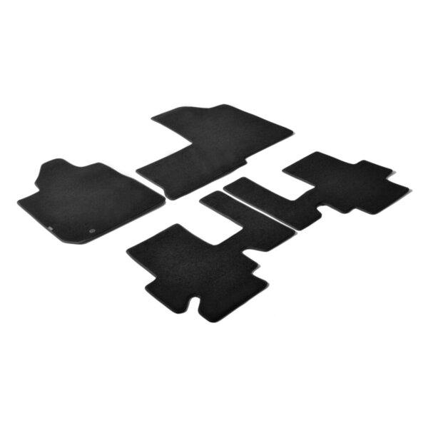 Мокетни стелки черни за Fiat Multipla - от 2004 до 2010 година