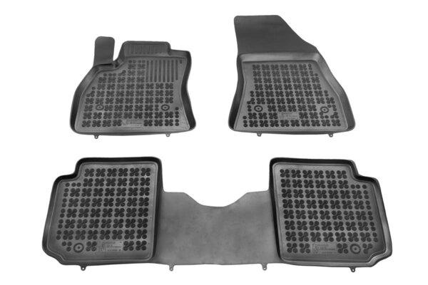 Гумени стелки за Fiat 500L / Trekking / Living модел от 2013 и нагоре