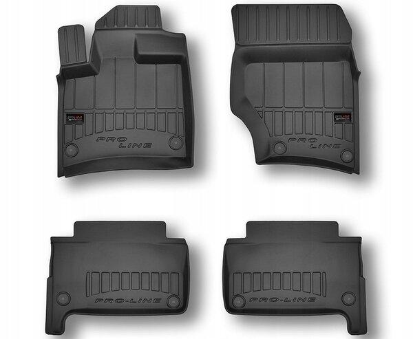 3D Гумени стелки за Audi Q7 - модел от 2006 до 2015 година