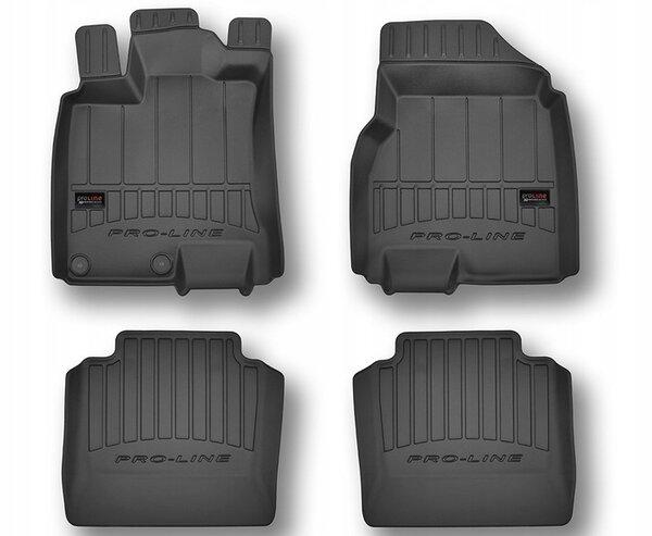 3D Гумени стелки за Nissan Qashqai I +2 - модел от 2006 до 2013 година