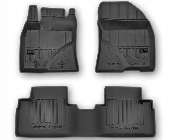 3D Гумени стелки за Toyota Avensis модел от 2009 до 2018 година - 3D407398
