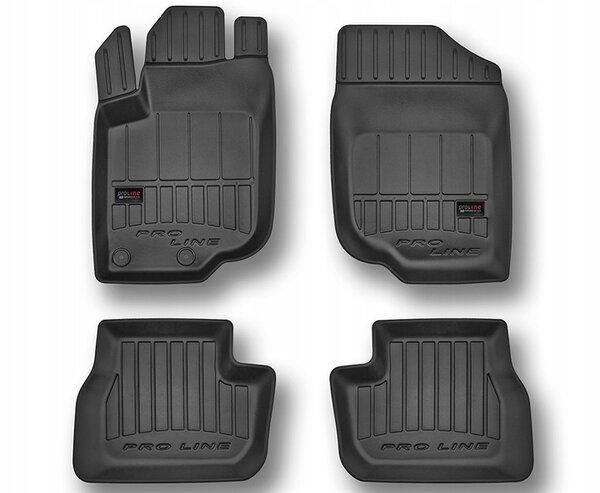 3D Гумени стелки за Peugeot 207 - модел от 2006 до 2012 година - 3D407435