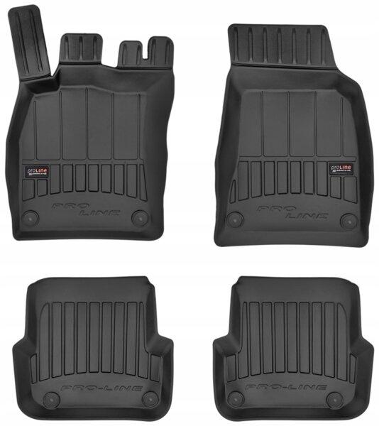 3D Гумени стелки за AudiA6 C6 - модел от 2006 до 2011 година - 3D408852