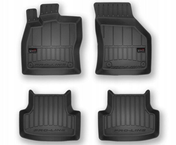 3D Гумени стелки за Vw Golf VII / GTI / Alltrack - модел от 2012 до 2019 година