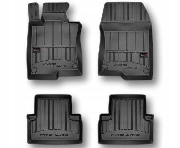 3D Гумени стелки за HONDA Accord VIII - модел от 2008 до 2015година
