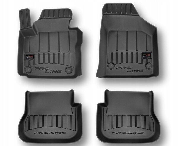 3D Гумени стелки за VW Caddy модел от 2003година до 2020 година