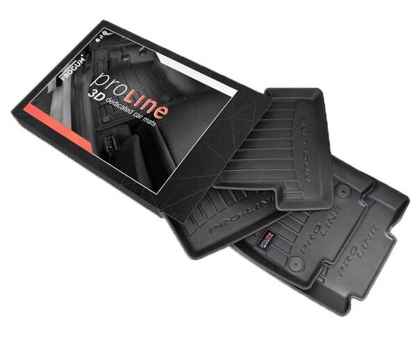 3D Гумени стелки за A3 Sportback модел от 2012 година до 2020 година