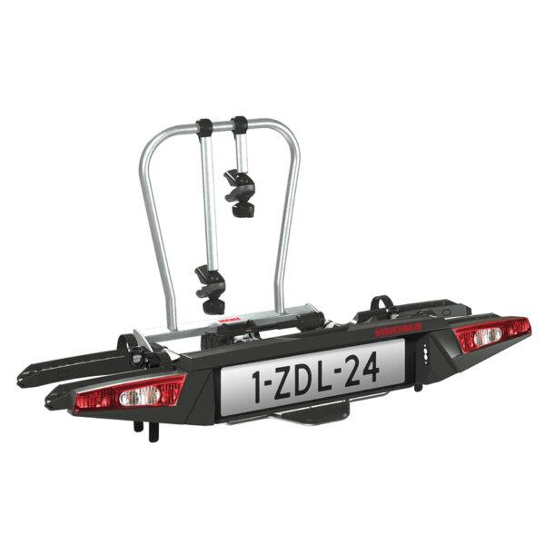 Yakima Fold Click 2 - Багажник за 2 велосипедa - монтаж на теглич