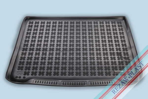 Гумена стелка за багажник на Ford FOCUS IV Station Wagon, версия с резервна гума с неправилен размер (спестяване на пространство, по-малка от стандартните гуми) след 2018 година