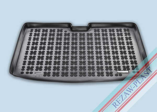 Гумена стелка за багажник на Renault CAPTUR II след 2019 година долно ниво на багажника