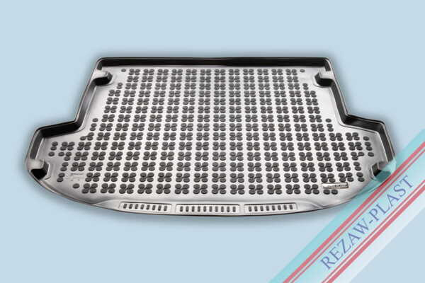 Гумена стелка за багажник на Hyundai SANTA FE IV версия за 5 пътника след 2018 година