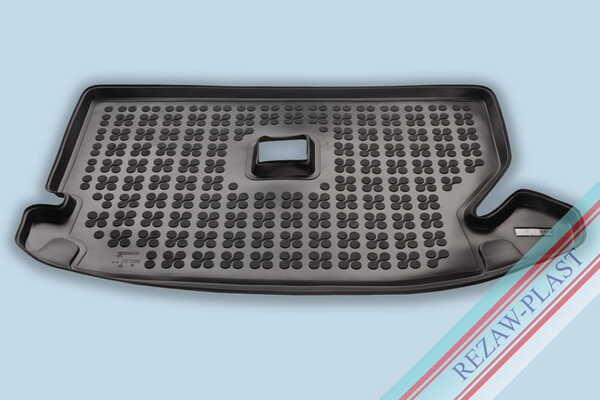 Гумена стелка за багажник на Renault DACIA LODGY I, LODGY I Stepway, версия за 7 пътника (със сгънат трети ред седалки) след 2017 година