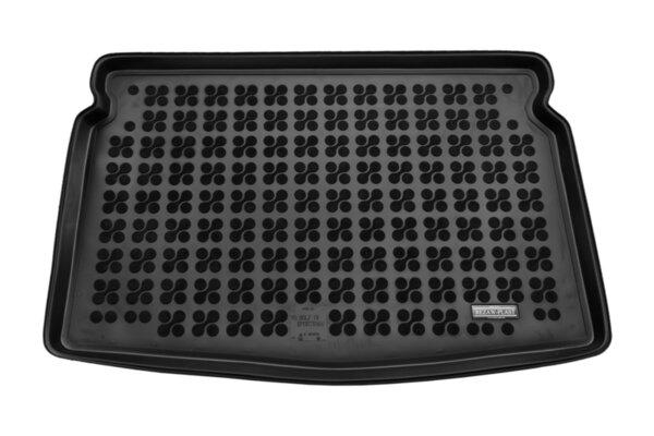 Гумена стелка за багажник на Volkswagen GOLF SportsVan от 2014 до 2018 година - Долно ниво на багажника