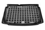 Гумена стелка за багажник на Volkswagen POLO V Hatchback долно ниво на багажника от 2009 до 2017 година