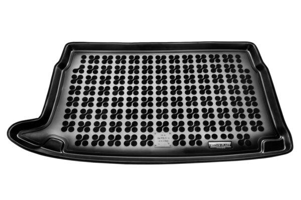 Гумена стелка за багажник на Volkswagen POLO V Hatchback горно ниво на багажника от 2009 до 2017 година
