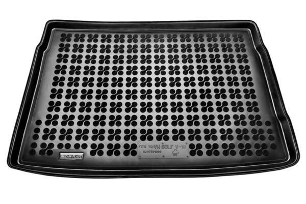Гумена стелка за багажник на Volkswagen POLO VI Hatchback версия с едно ниво на багажника след 2017 година