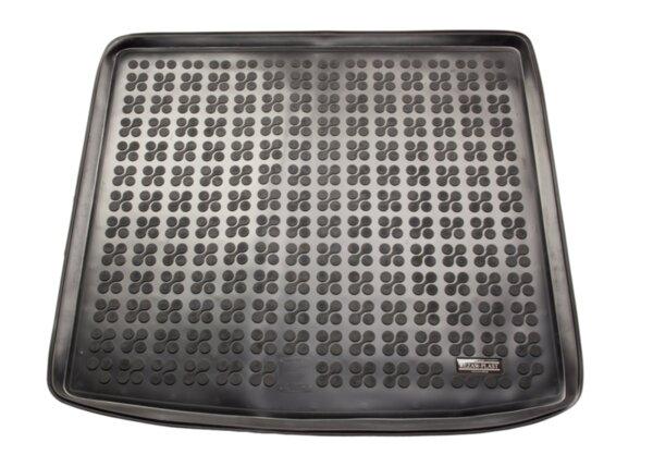 Гумена стелка за багажник на Volkswagen TOURAN II версия за 5 пътника, горно ниво на багажника след 2015 година