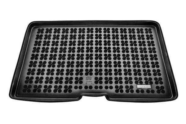 Гумена стелка за багажник на Renault Captur от 2013 до 2019 година - долнo ниво на багажника