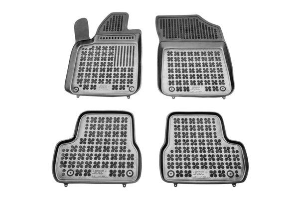 Гумени стелки за Citroen DS3 Hatchback 3 - врати - от 2009 до 2016 година