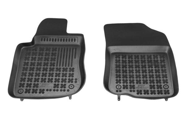 Гумени стелки за Mercedes VITO III - предни с допълнителен материал от страна на водача - от 2012 до 2019 година