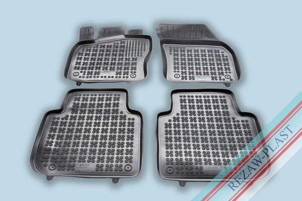 Гумени стелки за Seat TARRACO версия за 5 пътника, версия за 7 пътника (със сгънат 3ти ред седалки) - след 2018 година