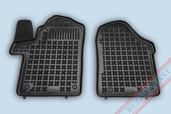 Гумени стелки за Mercedes W447 V CLASS - предни с допълнителен материал от страна на водача - след 2014 година