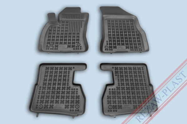Гумени стелки за Opel COMBO D версия за 5 пътника, 7 пътника (за два реда седалки) - от 2011 до 2018 година