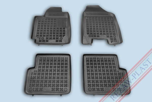 Гумени стелки за Toyota COROLLA IX (E120, E130) версия с пожарогасител - от 2000 до 2007 година