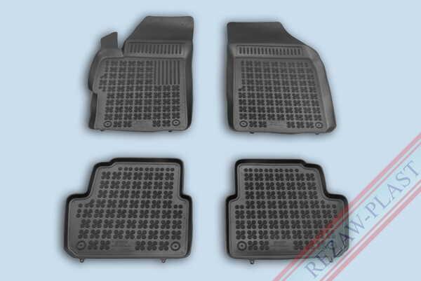 Гумени стелки за Chevrolet SPARK III фейслифт - от 2012 до 2015 година