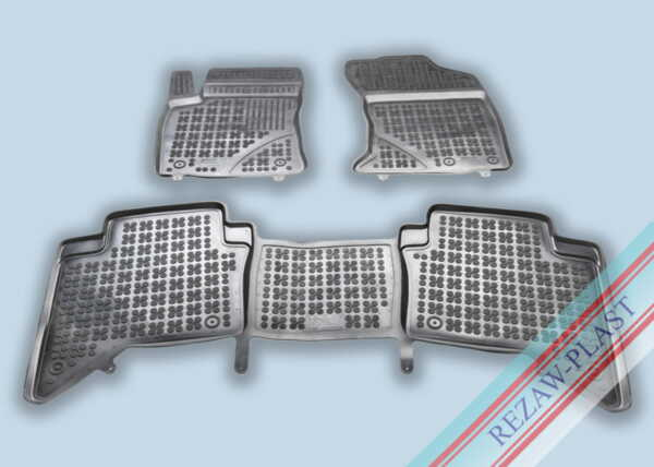 Гумени стелки за Toyota HILUX (AN120, AN130) 4 - врати - след 2015 година
