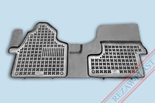 Гумени стелки за Mercedes SPRINTER III - предни с допълнителен материал от страна на водача - след 2018 година