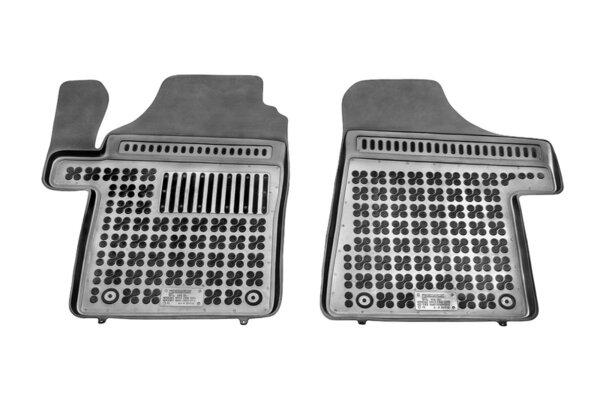 Гумени стелки за Mercedes VITO II - предни с допълнителен материал от страна на водача - от 2003 до 2014 година