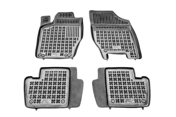 Гумени стелки за Citroen C4 II версия с пожарогасител - от 2010 до 2017 година