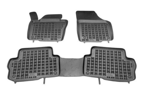 Гумени стелки за Seat ALHAMBRA II версия за 5 пътника (предни, средни) - след 2010 година