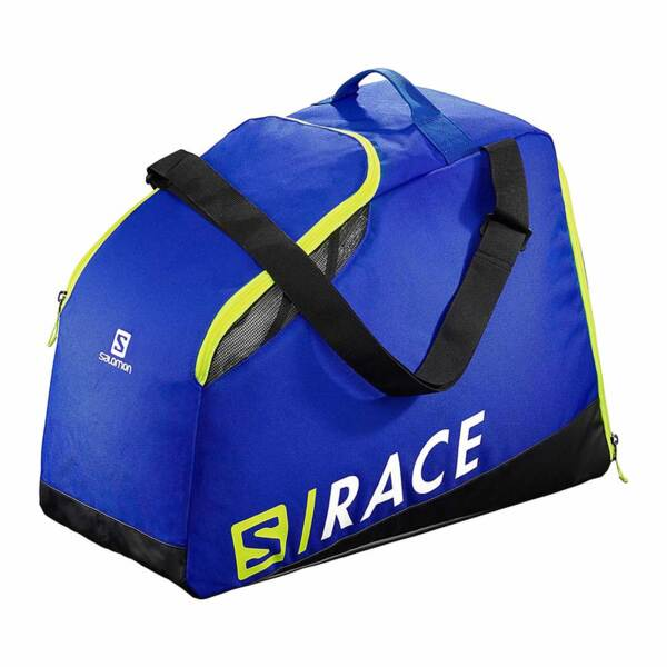Сак за ски обувки Salomon EXTEND MAX GEARBAG - спортно синьо / електриково жълто