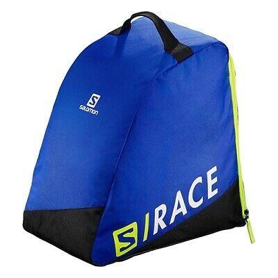 Сак за ски обукви Salomon - спортно синьо / електриково жълто