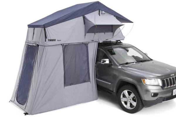 Thule Tepui Explorer Autana 3 Haze Grey - Покривна палатка