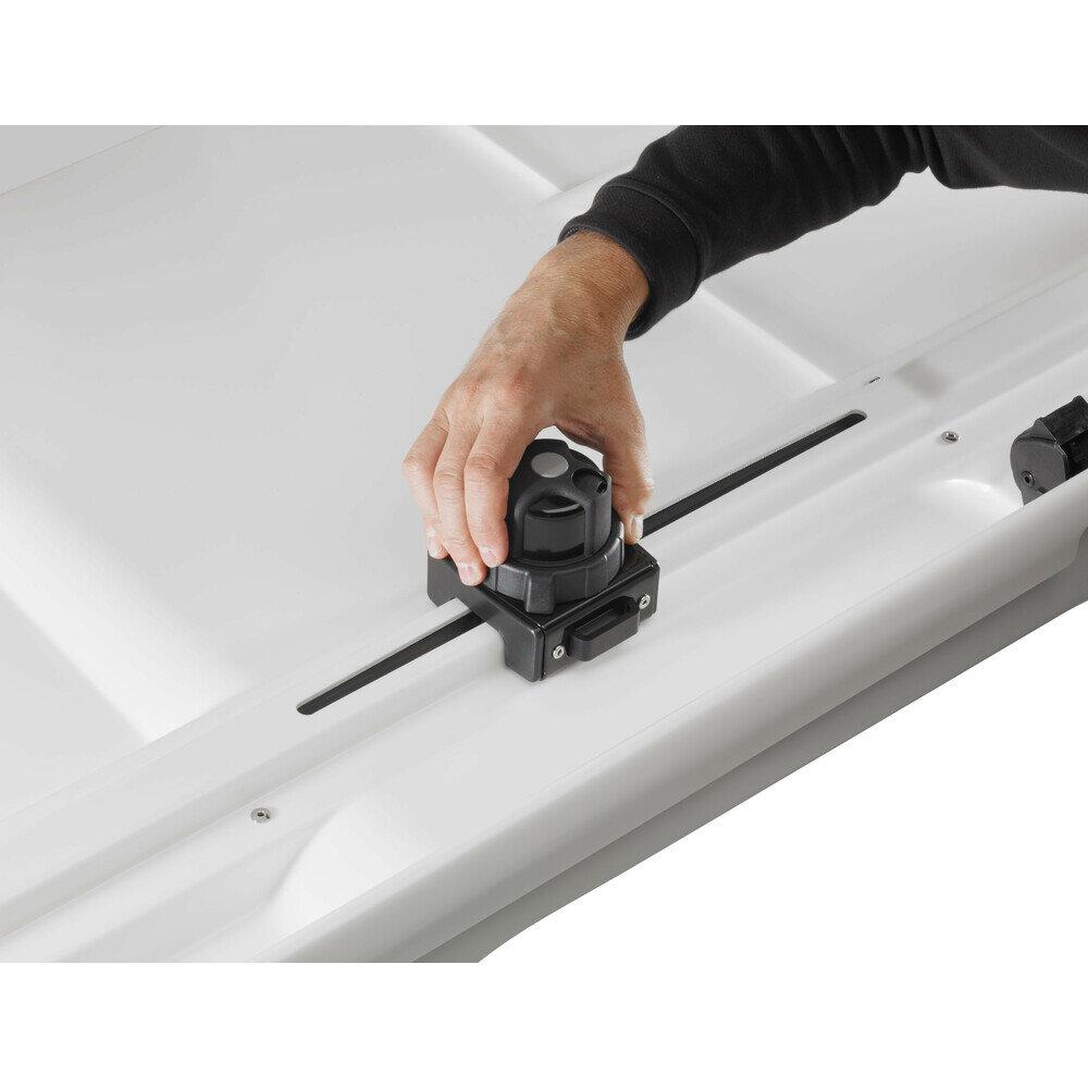 Багажник-автобокс Yakima YWB751W 400 литра Сив гланц
