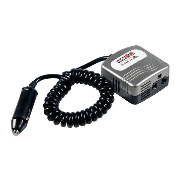 Инвертор на мощност от 12V DC към 220V AC - 60W номинална до 100W пикова мощност