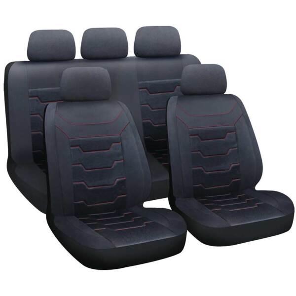 DRIFT Black - Комплект Универсални Калъфки за предни и задни седалки