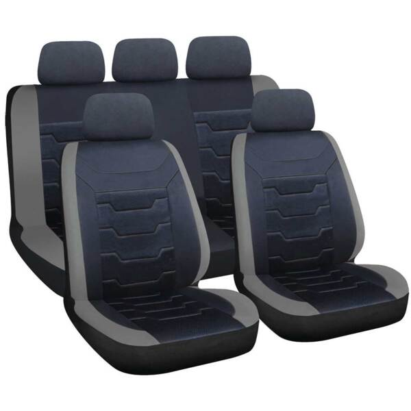 DRIFT Black-Grey - Комплект Универсални Калъфки за предни и задни седалки