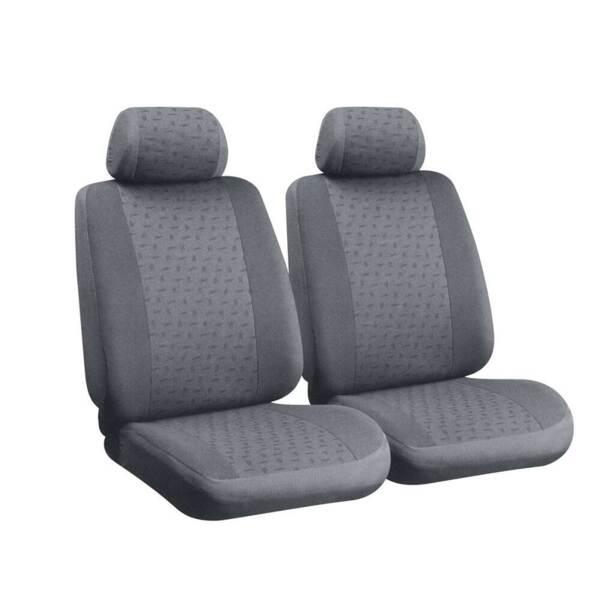 GLAMUR Grey - Комплект Универсални Калъфки за предни седалки