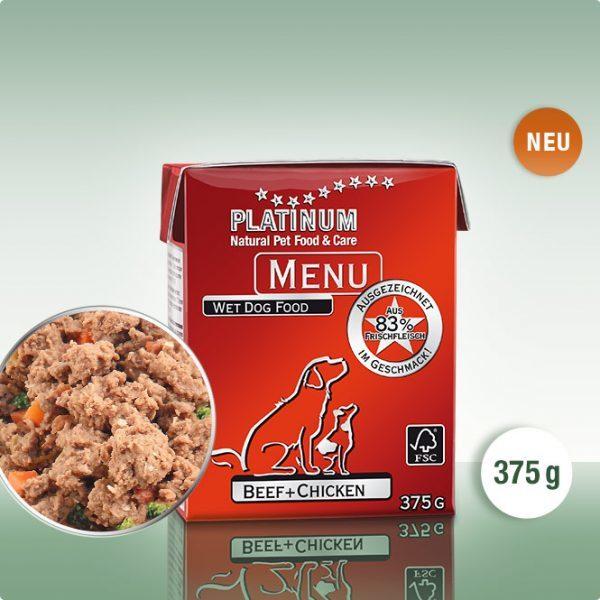 PLATINUM MENU Говеждо+Пиле